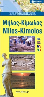 Milos - Kimolos Map